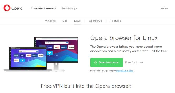 opera download page fossnaija