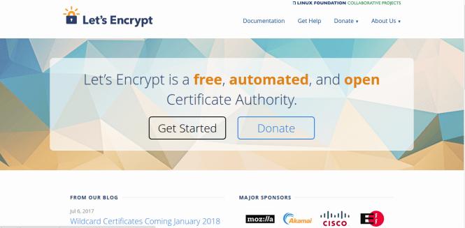 Let's Encrypt banner fossnaija