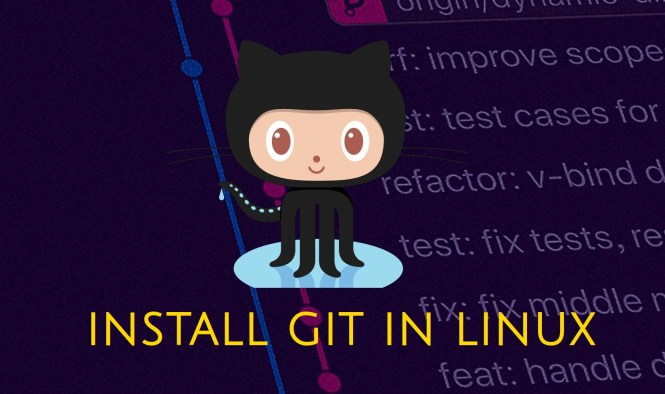how to install git banner