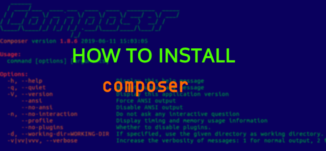how too install composer banner
