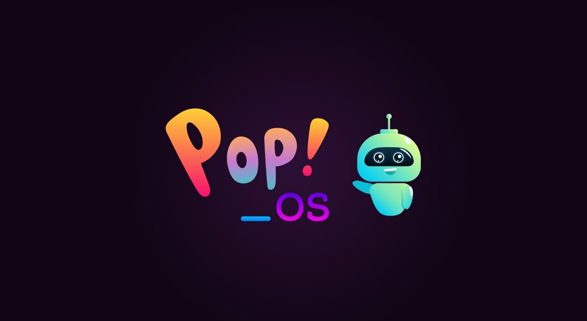 POP OS Linux Wallpaper Screenshot