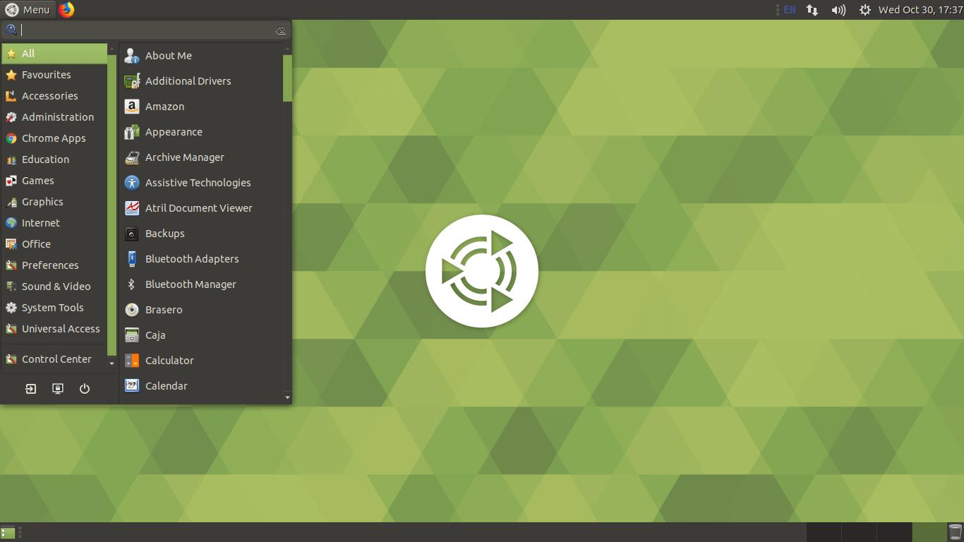 MATE Desktop Environment Screenshot