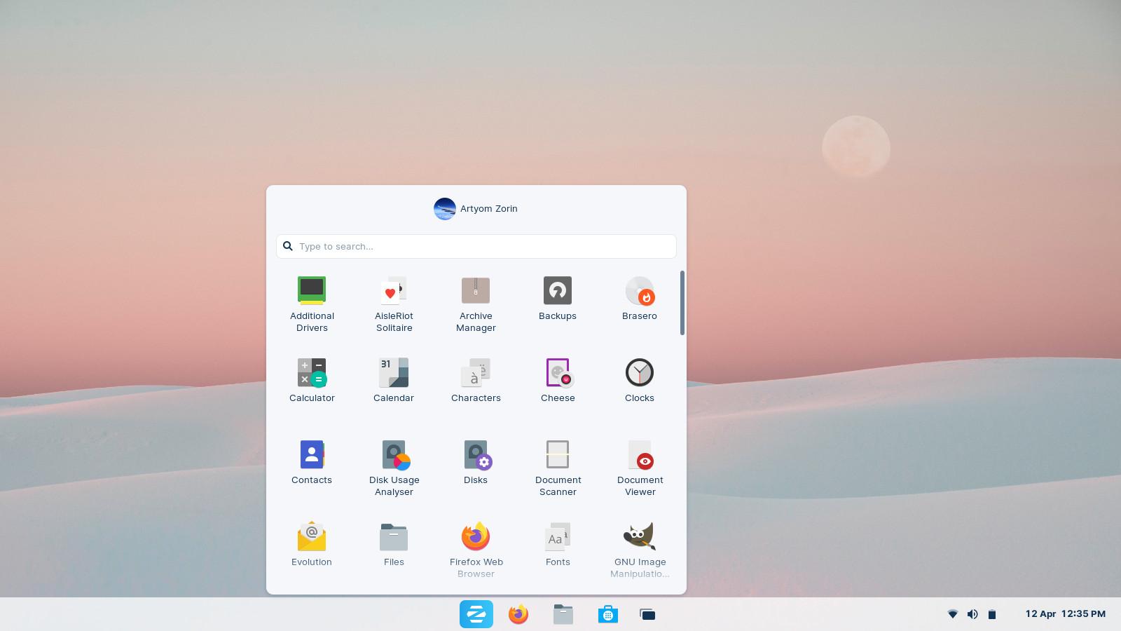 Zorin OS 16 ScreenShot Provided By Zorin OS Team