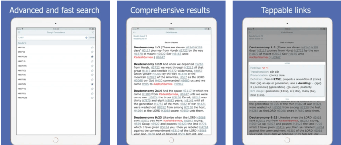 Bible Concordance and Strongs app PC download