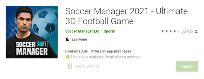 Soccer Manager 2021 for Mac