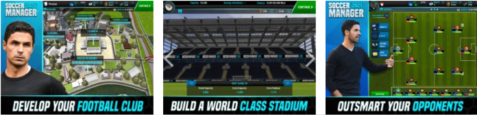 Soccer Manager 2021 app PC download