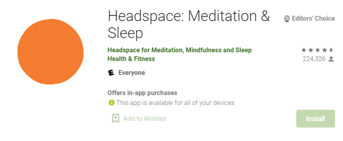 Headspace for Mac