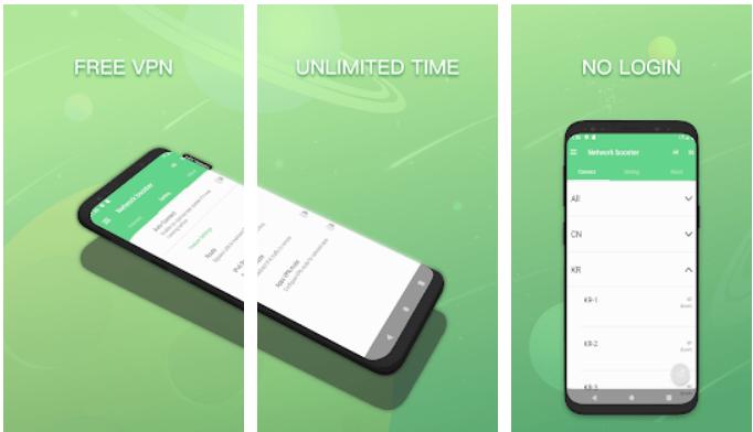 Galaxy VPN app on Windows