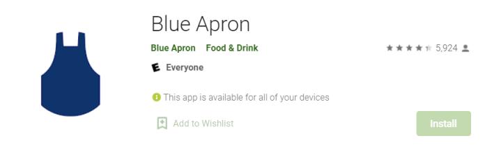 Blue Apron for Mac