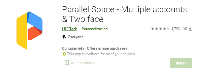 Parallel Space for Mac