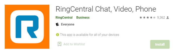 Ring Central for Mac