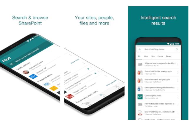 Microsoft SharePoint app on Windows
