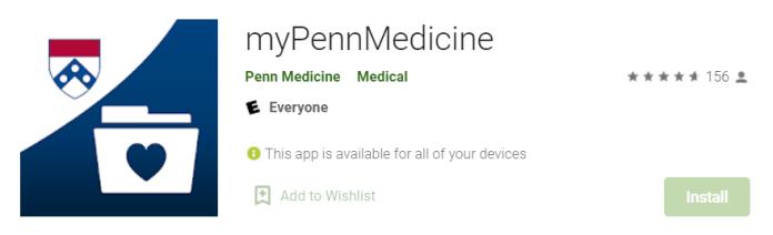 myPennMedicine for Mac