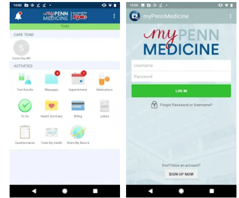 myPennMedicine app on Windows