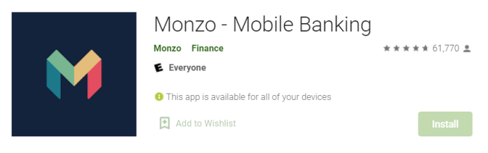 Monzo for mac