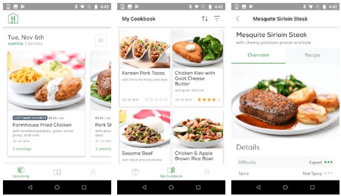 Home Chef app on Windows
