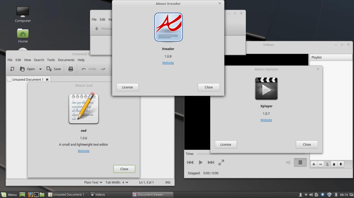 X-apps in Linux Mint 18