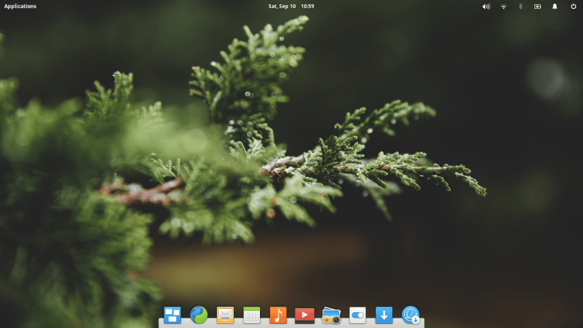 Elementary OS 0.4 Loki Desktop