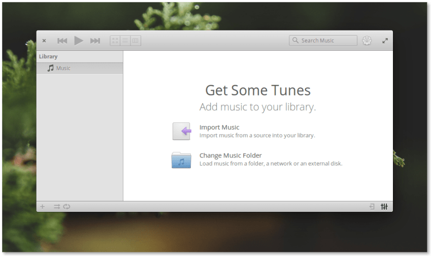 Elementary OS 0.4 Loki Music App