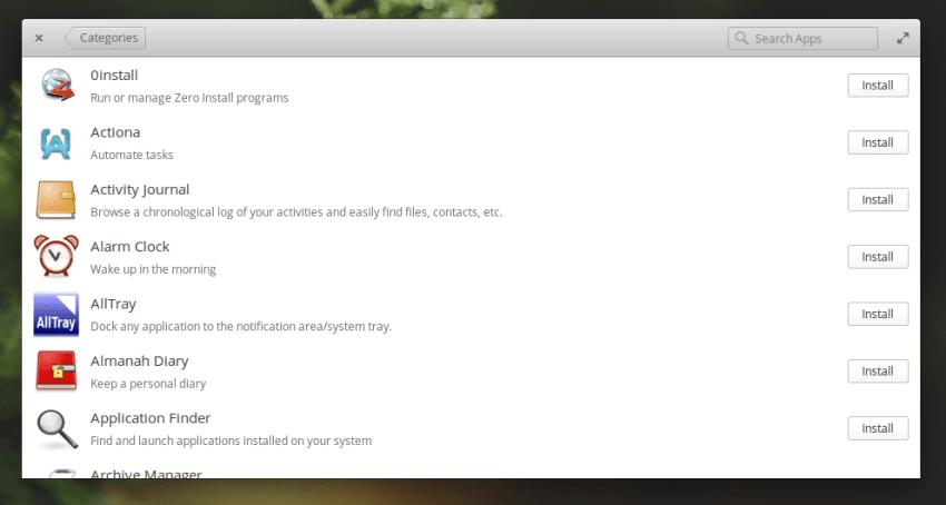 Elementary OS 0.4 Loki AppCenter