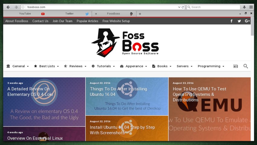Firefox with FFLoki Theme and Htitle Extension