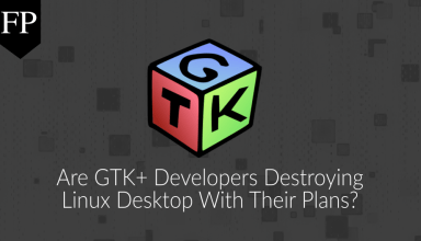 Are GTK+ developers destroying Linux desktop with their plans? 5 GTK