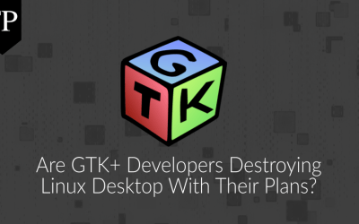 Are GTK+ developers destroying Linux desktop with their plans? 8