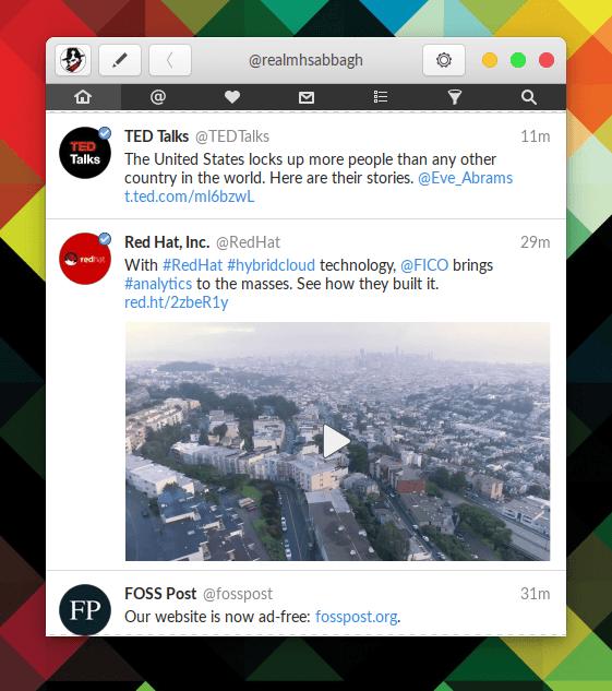 Hands on Corebird: A GTK+ Twitter Client 31