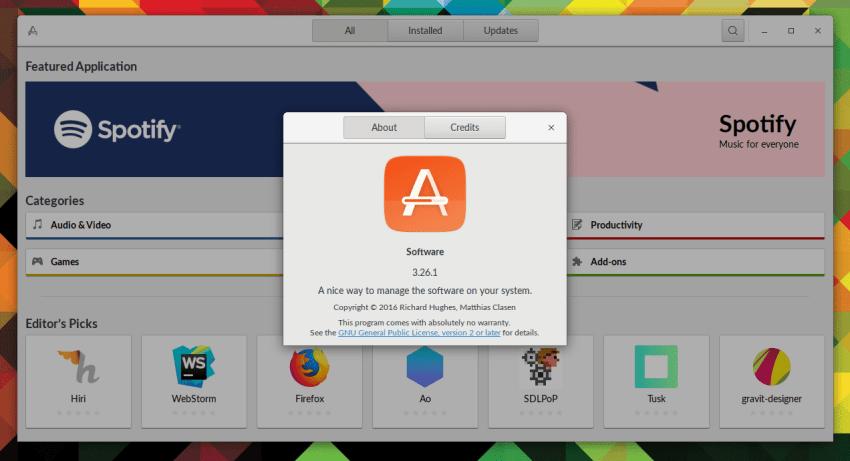 A Privacy & Security Concern Regarding GNOME Software 9