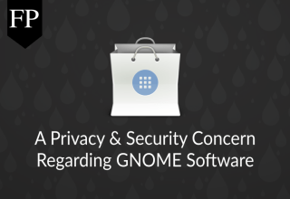 A Privacy & Security Concern Regarding GNOME Software 161