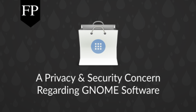 privacy security concern gnome software 24