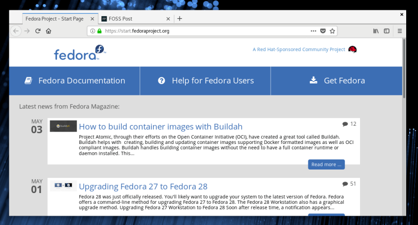 Fedora 28: Another Release for Power Users 27