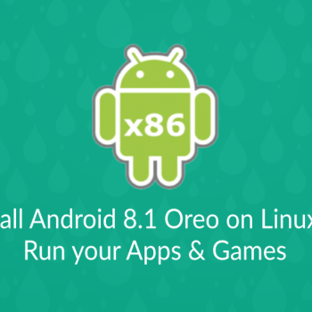 111 android 8.1 oreo on linux