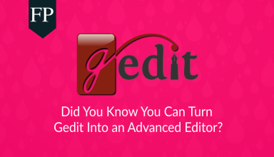 Turn Gedit Into an Advanced Editor 113 gedit