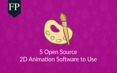 5 Open Source 2D Animation Software to Use 3
