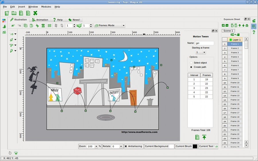 7 Open Source 2D Animation Software