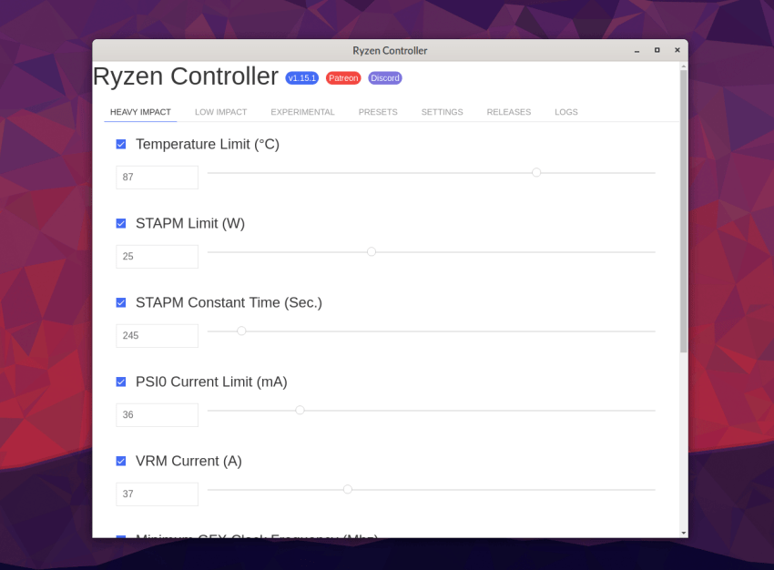 Overclock your AMD Ryzen Mobile on Linux with Ryzen