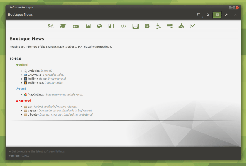 Best Distribution of 2019 Goes to Ubuntu MATE 19.10 105