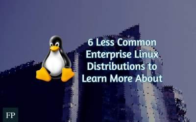 6 Less Popular Enterprise Linux Distributions 1