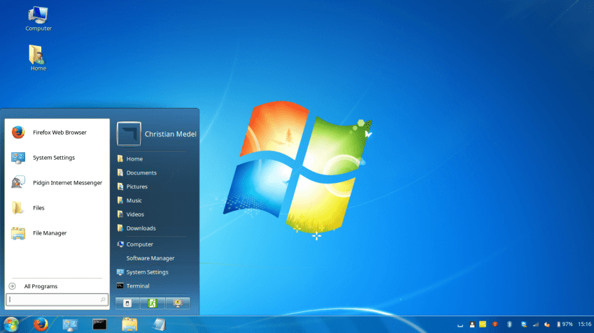 Make Your Linux Look Like Windows XP, 7 and 10 15