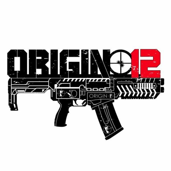 Origin-12 Transparent Die-Cut Sticker