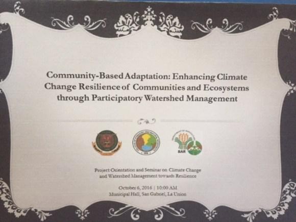 UPLB & DA-BAR Certificate Awarded to all Municipal and Barangay Participants