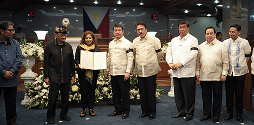 Necrological Service for the late former Senator Leticia Ramos Shahani (March 23, 2017)