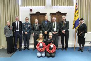 Annual Remeberance Service at the Gryphon School