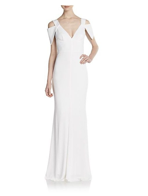 Cold_Shoulder_Jersey_Gown_-_SaksOff5th
