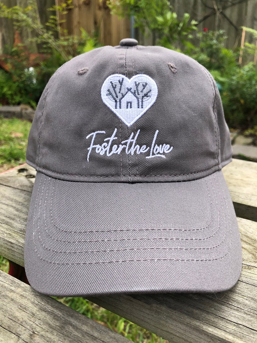 Foster The Love Canvas Hat - front view