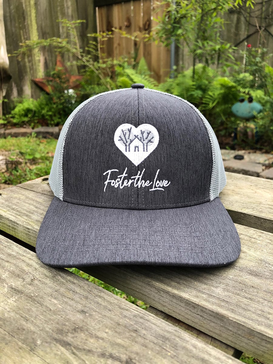 Foster The Love Trucker Hat - front view