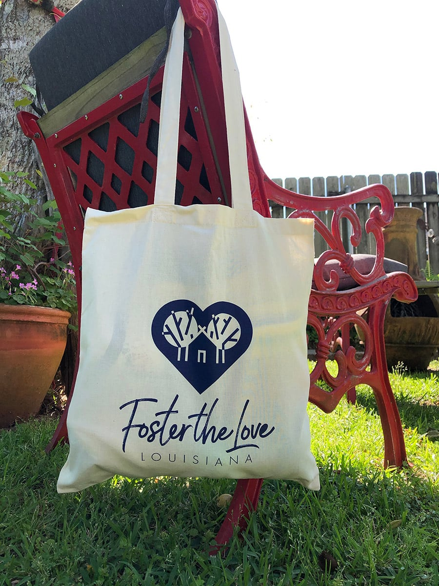 Foster the Love tote bag