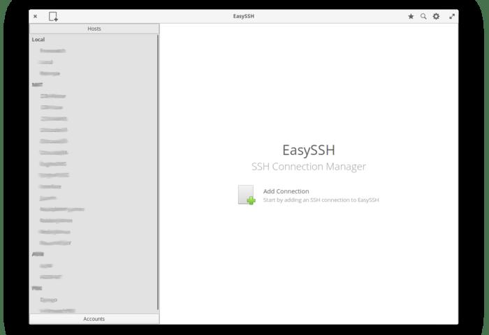 EasySSH light mode