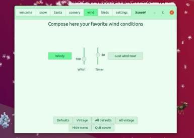 xsnow-wind